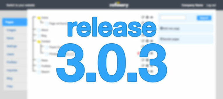 Refinerycms Release 3 0 3
