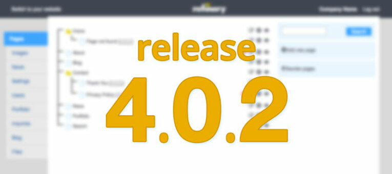 Refinery CMS release 4.0.2